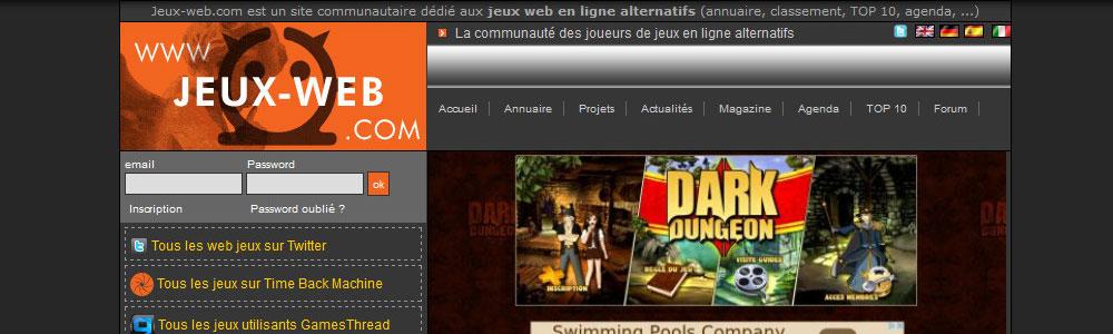 Jeux Web