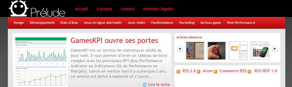 Blog Prélude