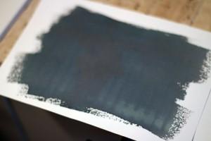 Cyanotype prêt à être développé