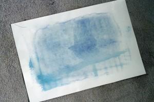 Cyanotype raté