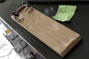 Le plan, le bois et le matériel