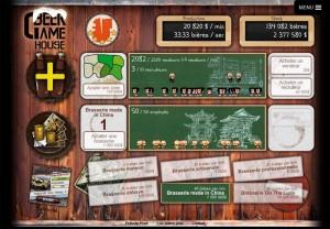 Beer Game : écran de jeu