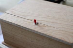 La boîte en bois