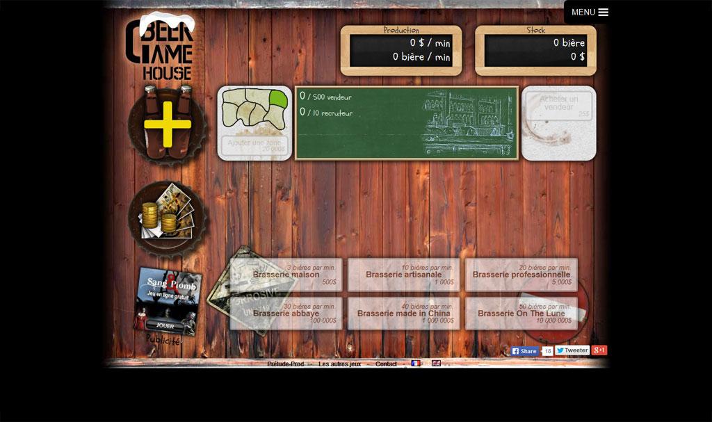 BeerGame : jeu en ligne - fabriquez et vendez des bières