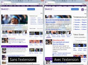 Extension Chrome : Agrandir les textes