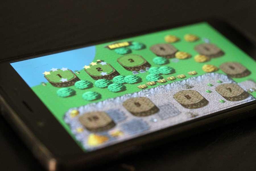 Fission : jeu d'arcade sur Android