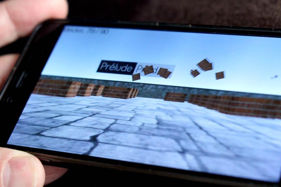 Blourp 3D : jeu d'arcade sur Android