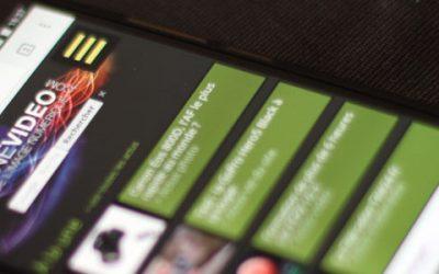 Passage en responsive du site Magazinevideo.com